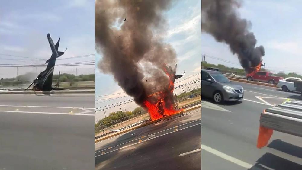 Se desploma HELICÓPTERO en Nuevo León; hay un muerto (+Video)