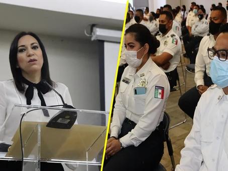 Mesa de Seguridad y Justicia Morelia otorgó 5 de 10 reconocimientos y apoyos a policías municipales