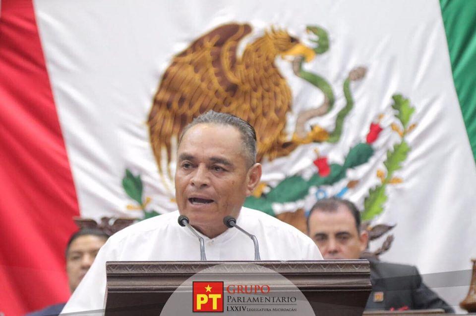 Celebra Salvador Arvizu aprobación de la Revocación de Mandato en Michoacán para dar poder al pueblo