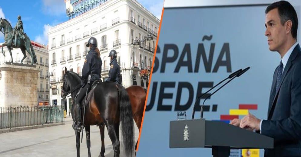 España declara nuevo estado de emergencia para frenar casos de COVID. duraría hasta mayo de 2021
