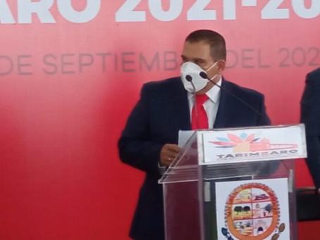 Bladimir González, coordinador estatal de presidentes municipales en Michoacán de AALMAC