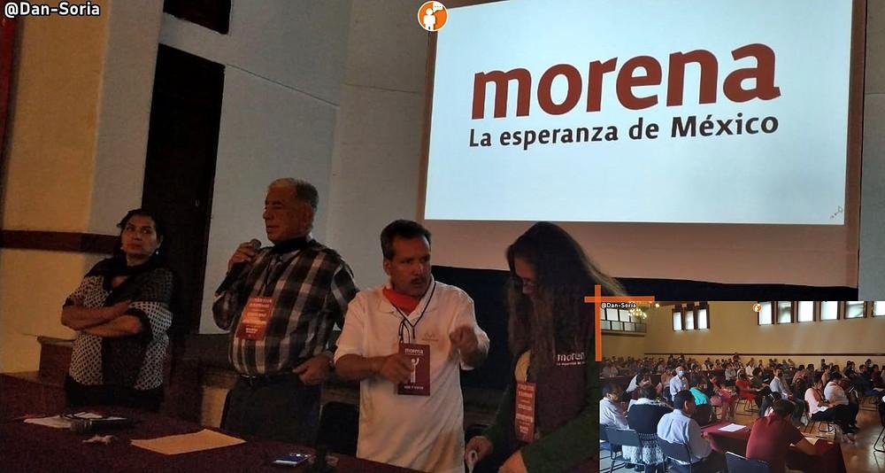 Consejo estatal de Morena desconoce a Yeyo como presidente y asignan nuevos secretarios