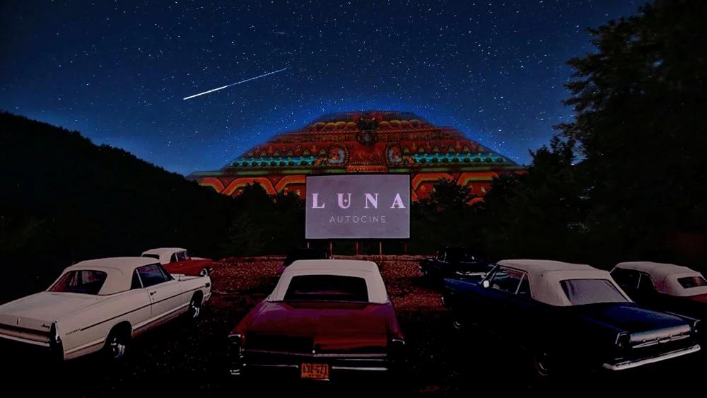 """Llega """"Luna Autocine""""; Ahora podrás ver pelis junto a las Pirámides de Teotihuacán"""