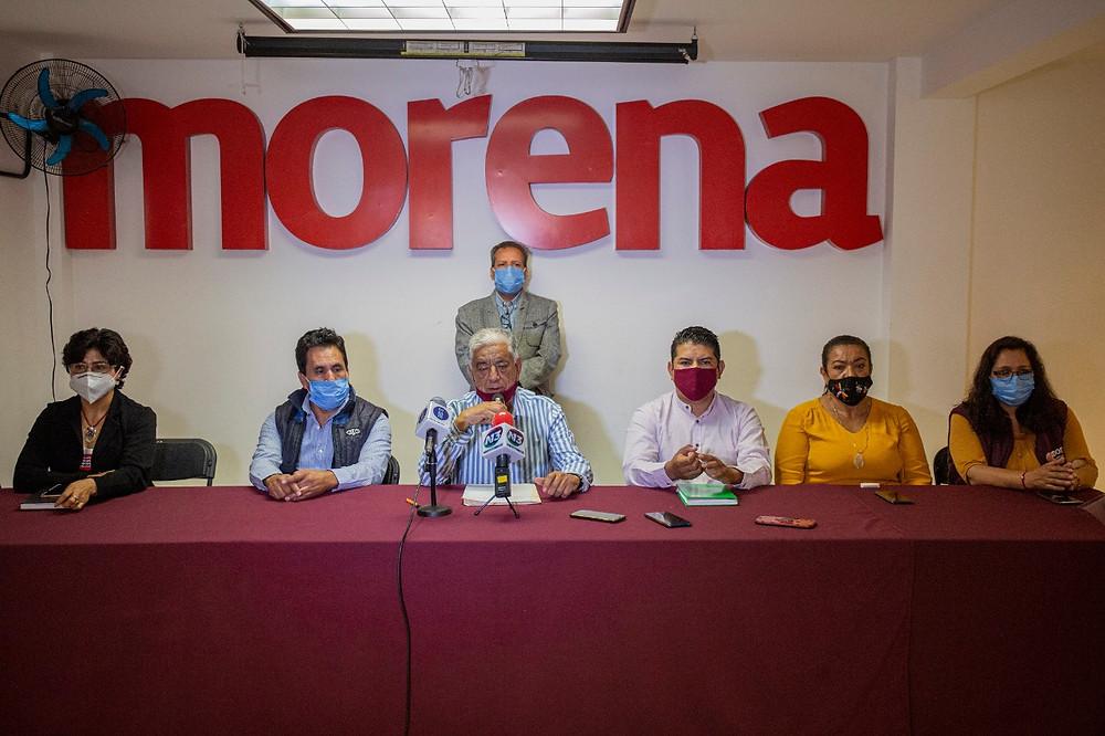 Morena Michoacán califica como golpe a la democracia el dictamen del Tribunal Electoral y esto harán
