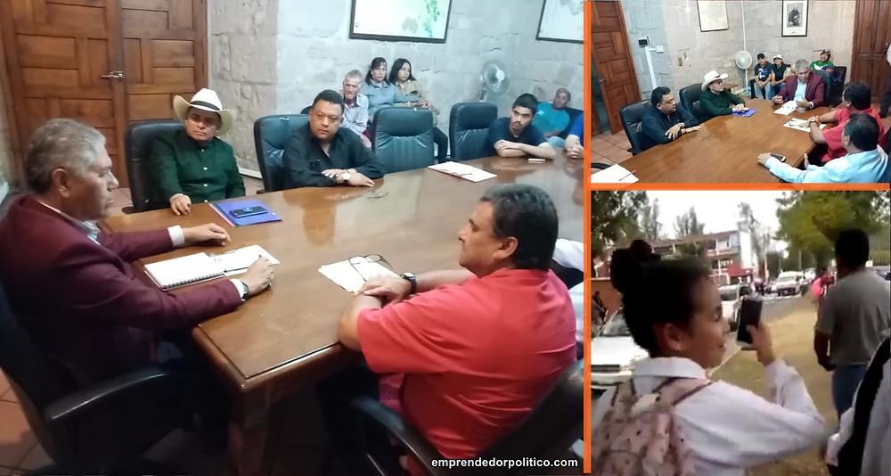 Diputado Salvador Arvizu acompaña a ciudadanos para dar solución a peticiones que demandan seguridad