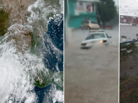 #Nora se convierte en un peligroso Huracán mientras avanza sobre Jalisco, Colima y Michoacán