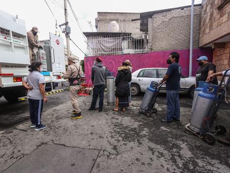 Arranca Gas Bienestar en Iztapalapa; Pemex ofrece kilos de a kilo, gas más rendidor y precios justos