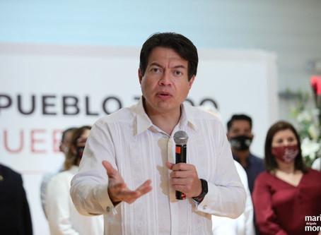 Mario Delgado advierte a suspirantes: No darán candidaturas a quien ejerza violencia de género