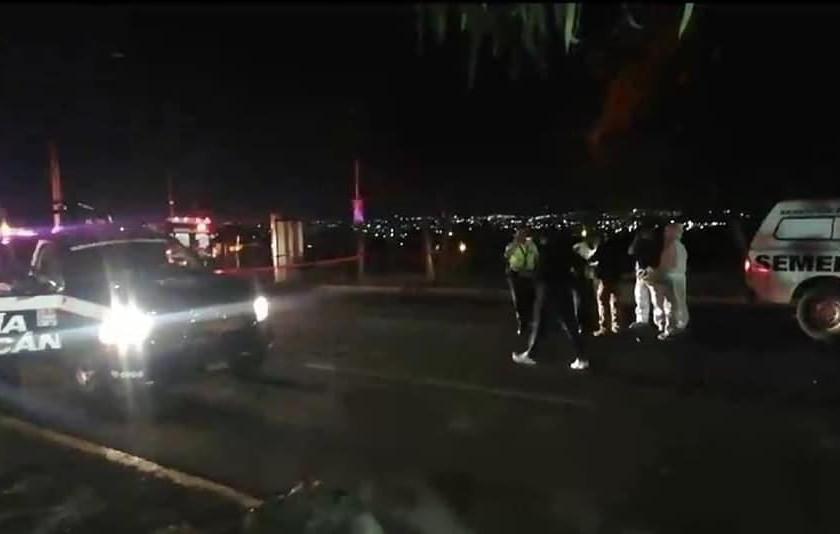 #Morelia: Patrulla atropella y mata a ciclista la noche de este viernes (+Fotos)
