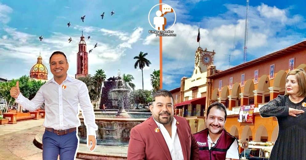 Las apuestas de la 4T para la alcaldía de Apatzingán  2021-2023