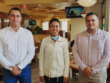 Fanny Arreola acuerda con alcalde de Tancítaro ir juntos en la gestión de recursos