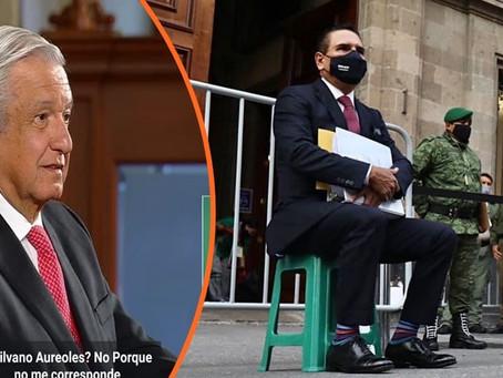 """AMLO lo vuelve a confirmar y reitera """"No voy a recibir a Silvano (...) hay mucha politización"""""""