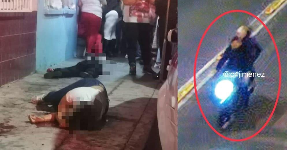 Motosicarios matan a niña y a su mamá durante festejos patrios
