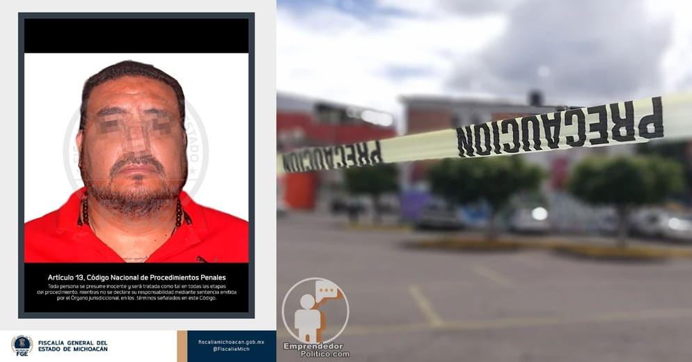 En Morelia, detienen a sujeto que presuntamente asesinó a 5 personas en Acámbaro