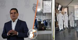 Silvano Aureoles anunció hoy el aumento del 60 por ciento de sueldo a personal de salud
