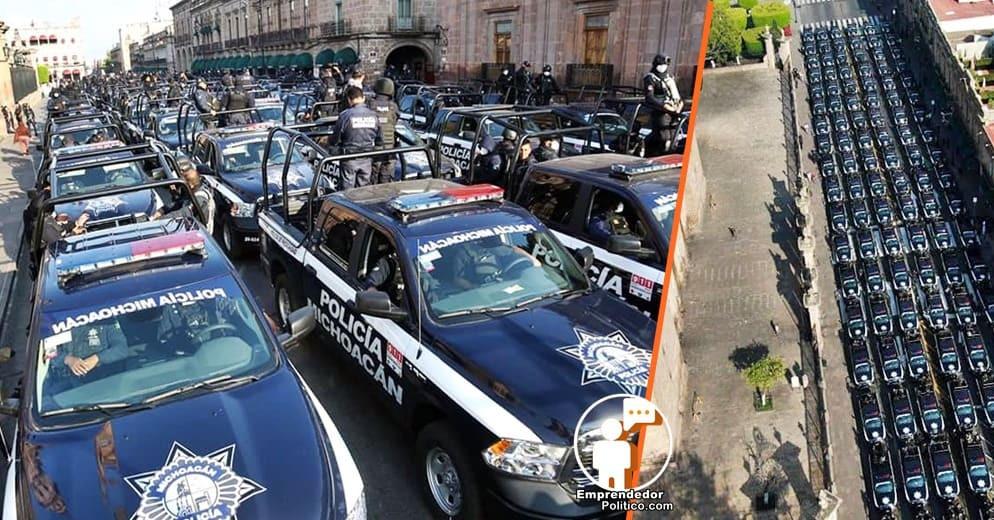 Refuerzan la security de #Michoacán con  140 patrullas nuevas
