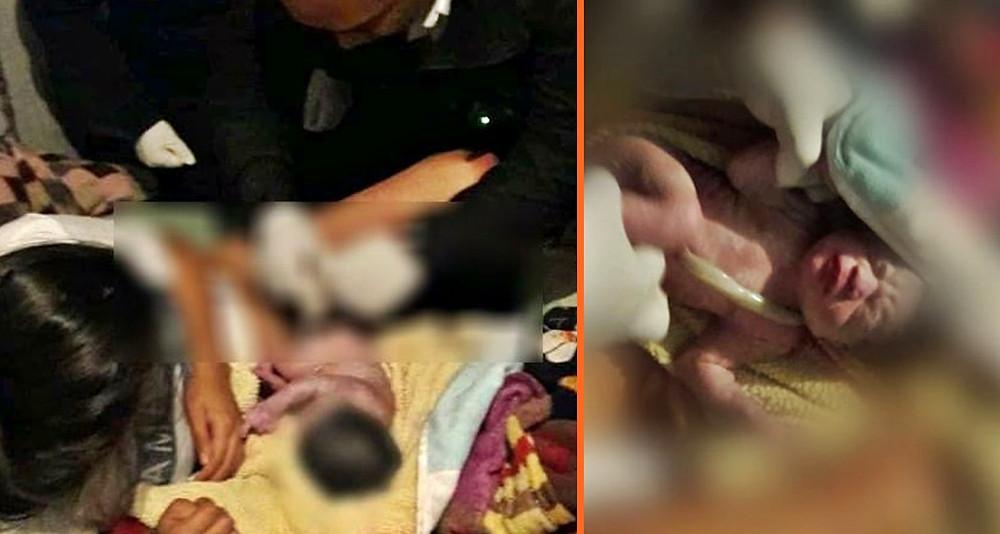 #Morelia: Regalo de San Valentín; Policías ayudan a mujer a dar a luz