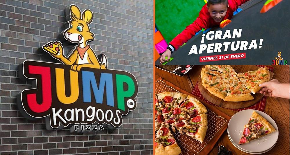 Llega a #Morelia Jump Kangoos Pizza, un nuevo concepto de Trampoline Park