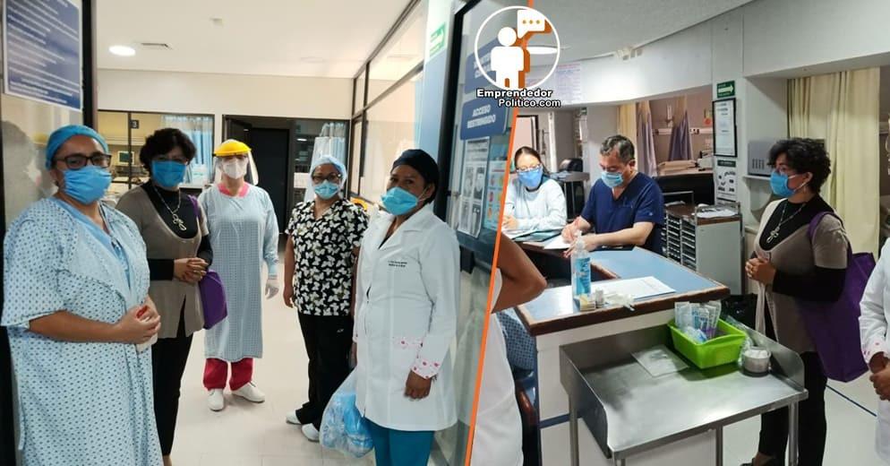 Diputada Anita Sánchez continua donando insumos de protección a personal médico