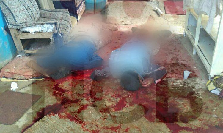 #Pátzcuaro: Encuentran a dos personas acribilladas en el interior de un domicilio