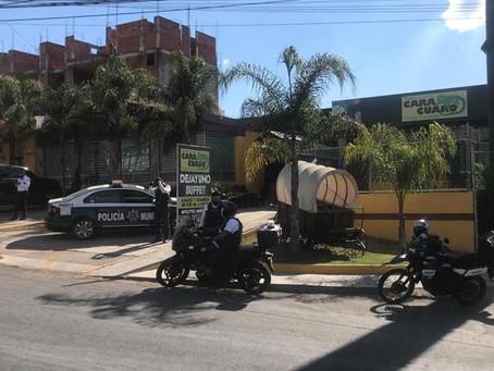 Morelia: Atentado en Altozano, deja a 3 comensales heridos