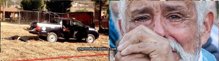 Matan policías en Michoacán