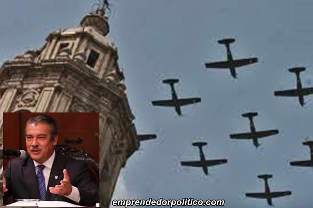 Alcalde de Morelia solicitó aviones del Ejército para el desfile del 30 de septiembre