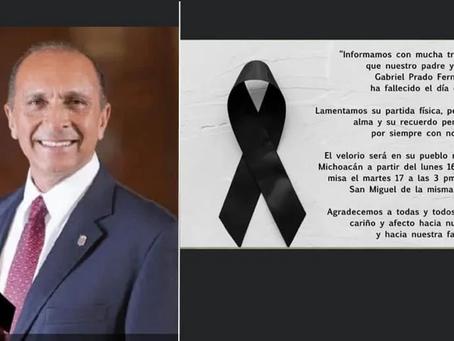 Fallece Gabriel Prado, ex secretario del Ayuntamiento e impulsor del deporte en Morelia