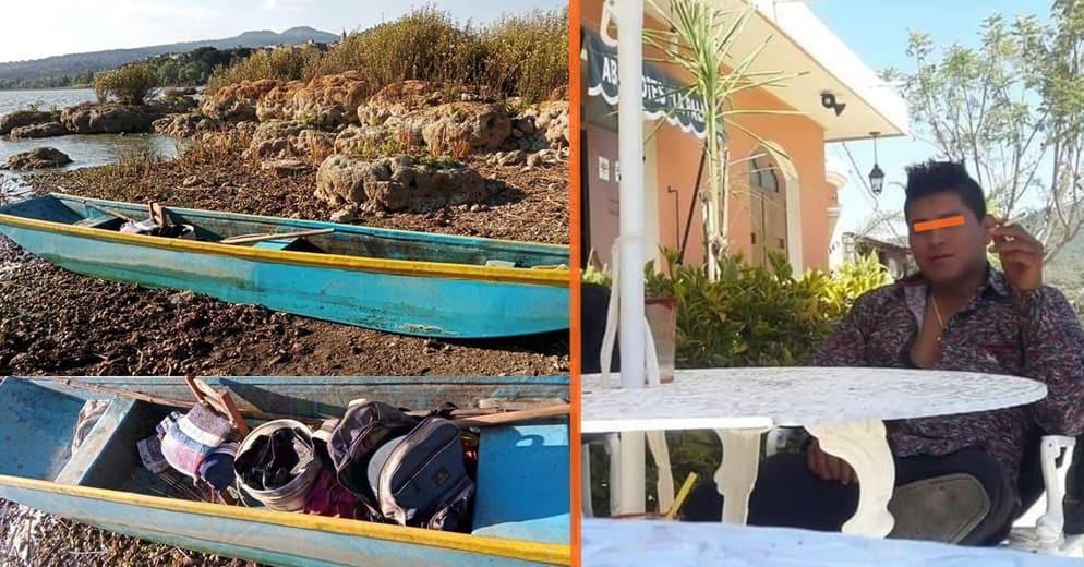 Localizan sin vida a joven pescador que estaba desaparecido en el Lago de Pátzcuaro