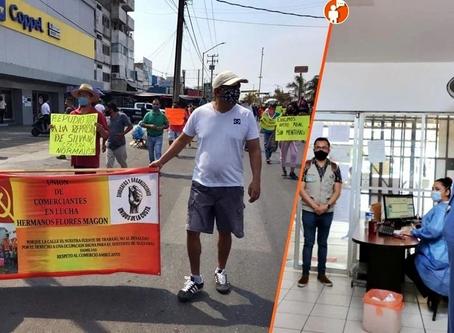 Lázaro Cárdenas el epicentro del COVID en Michoacán supera los 100 casos y ayer hubo marchas