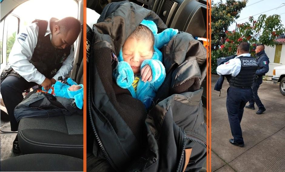 #Morelia: 👶 Abandona a recién nacido en caja de cartón