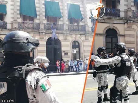 SEDENA y Guardia Nacional toman calles de Guanajuato y Michoacán