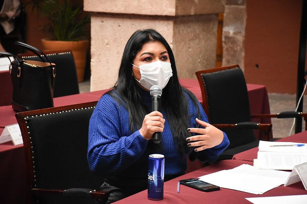 Brenda Fraga a favor del uso obligatorio del cubrebocas; en contra del arresto domiciliario