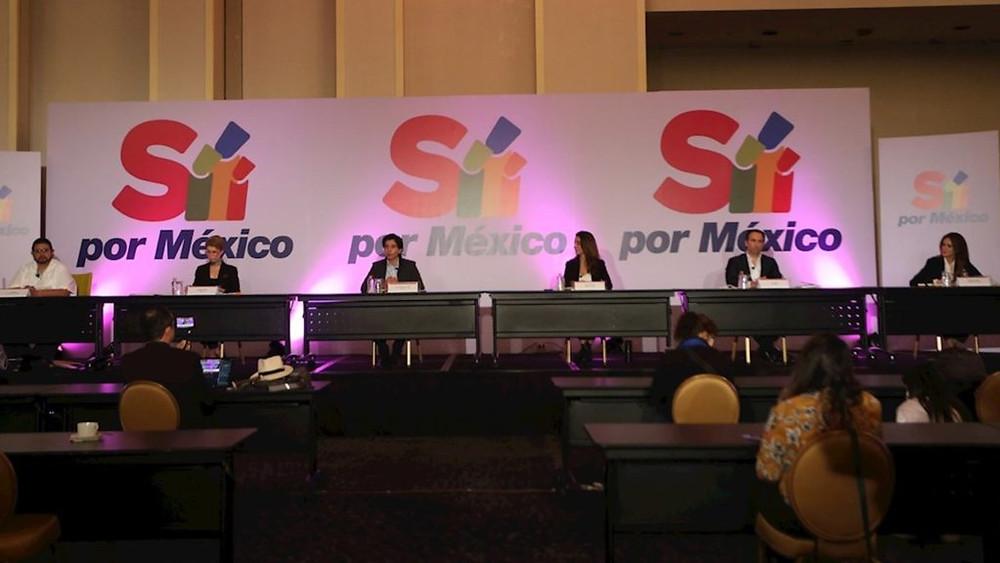 """""""Va Por México"""" anuncia su participación en las elecciones de 2021 y competir contra Morena"""