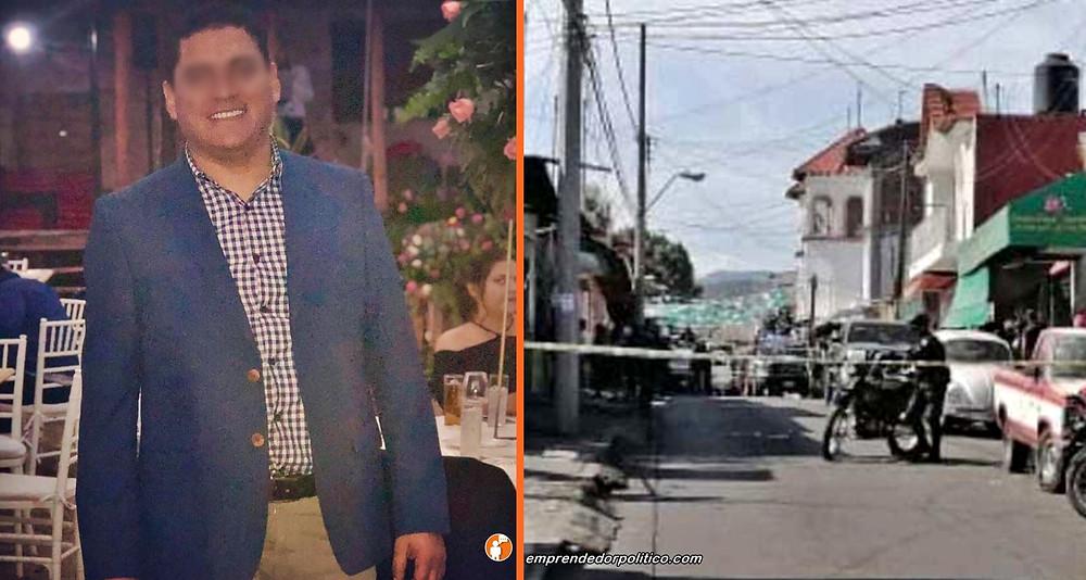 En intento de asalta, disparan a dirigente municipal del PRD en Purúandiro