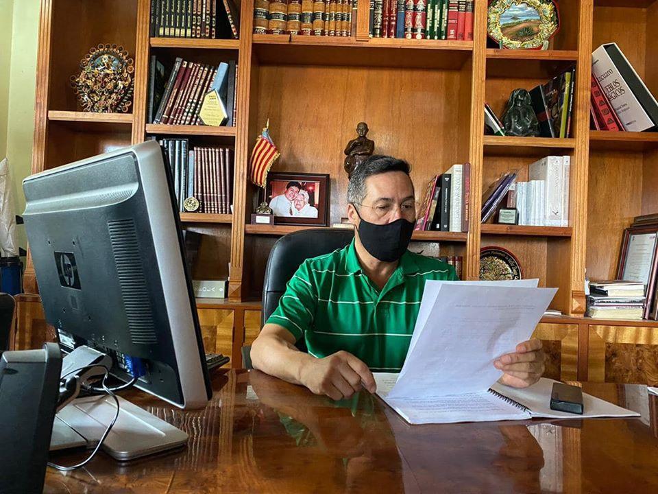 Alcalde de Pátzcuaro informa que dio positivo a COVID-19 y se encuentra trabajando en casa (+Video)