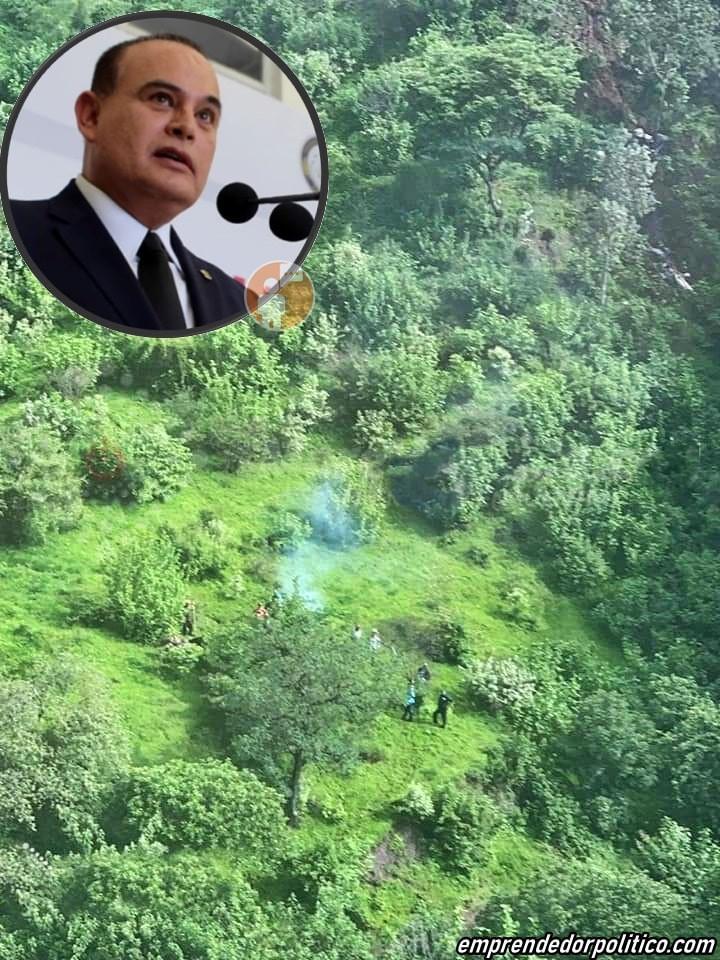 Se desploma helicóptero de gobierno de #Michoacán; fallece Secretario de seguridad pública