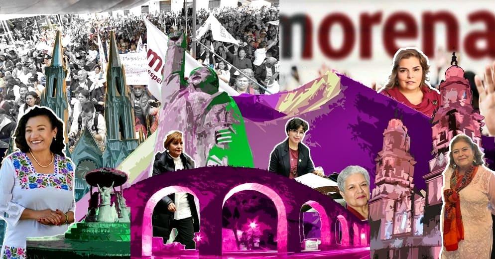 Actualización: Las mujeres de Morena que podrían gobernar Michoacán