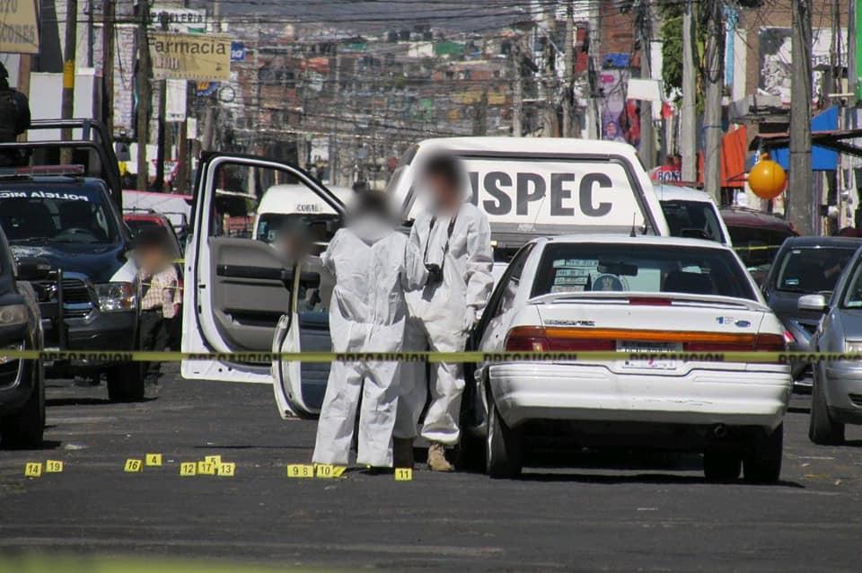 Morelia: Acribillan esta mañana a automovilista en la colonia Las Flores