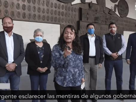 Diputados morenistas responden a Silvano: Antes de decir mentiras, que se evalué su gestión