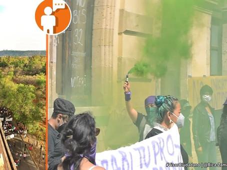 Colectivos feministas anuncian próxima marcha 8M en Morelia