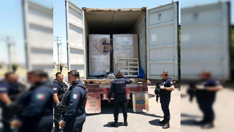 Policía Michoacán en la Huacana
