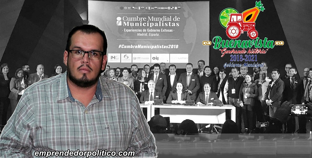 Alcalde de #Michoacán, el único invitado de México para la ll Cumbre Mundial de Municipalistas