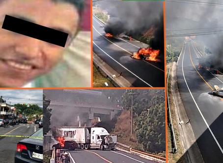 Se desata el caos en la región de Uruapan por detención de líder criminal