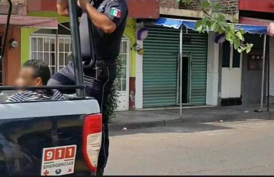 sujeto roba Shampoo  y desata Persecución Policial en Zamora