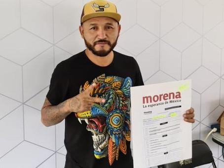 Mijis se registra para buscar diputación federal por Morena