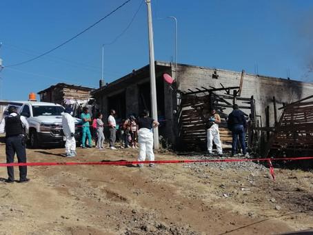 Lamentable: Muere calcinado joven moreliano tras quemarse su vivienda