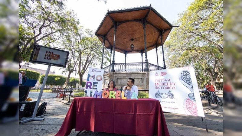 SeCultura y Turismo anuncian el Festival «Morelia Histórica»