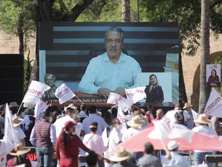 Las y los michoacanos, tenemos derecho a elegir quien será nuestro Gobernador: Iván Pérez Negrón