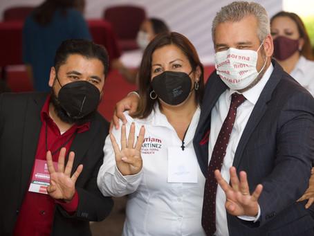 Para la 4T, la clase trabajadora, el principal motor de México: Myriam Martínez